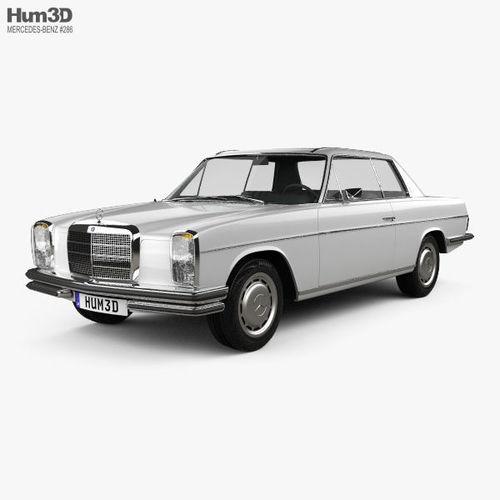 mercedes-benz w114 1968 3d model max obj mtl 3ds fbx c4d lwo lw lws 1
