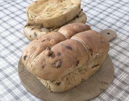 3D model Bread scan 3