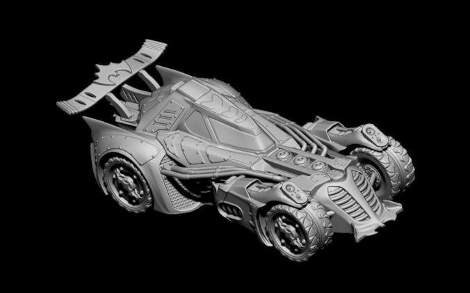 batmob 3d model stl ztl wrl wrz pdf 1