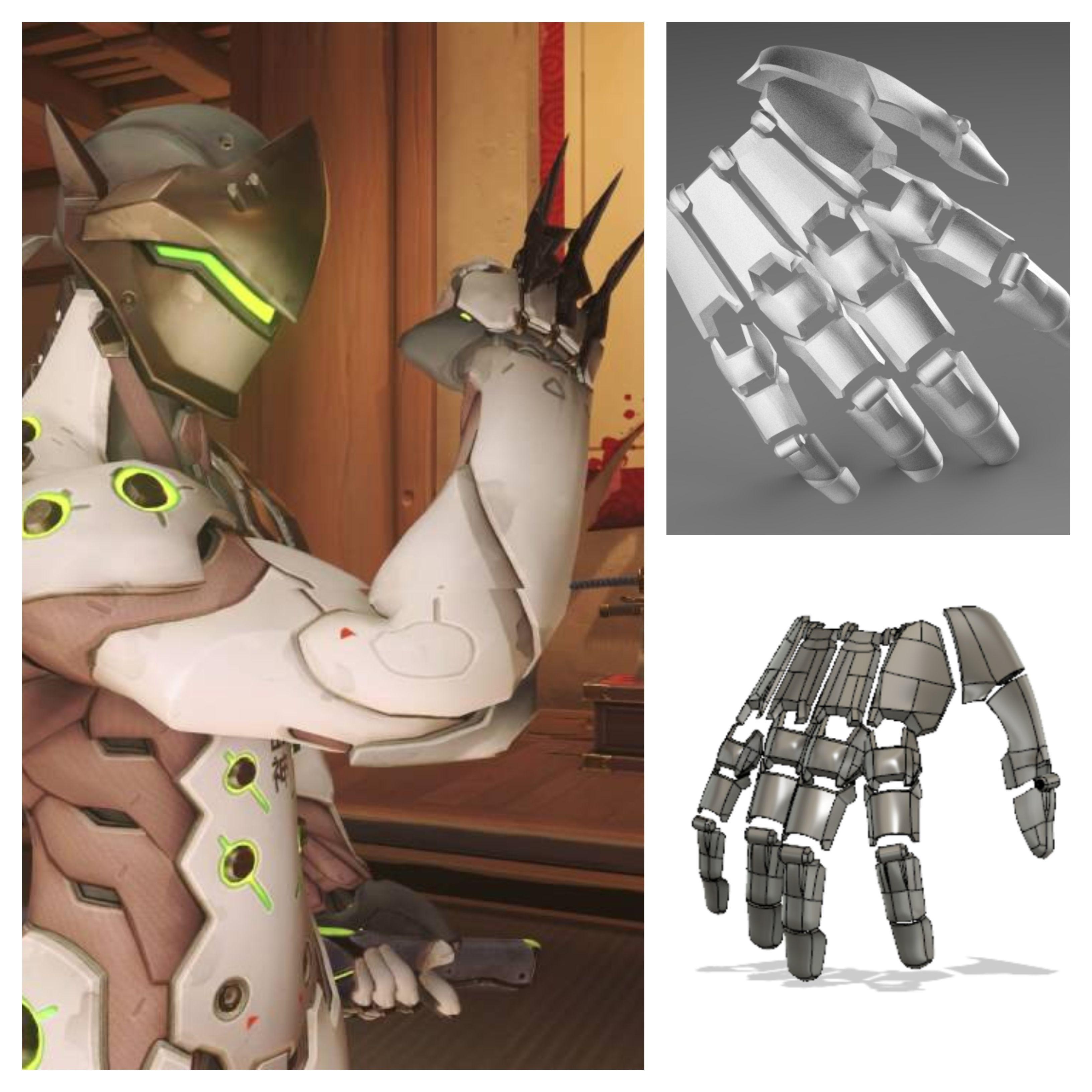 Genji robotic hand