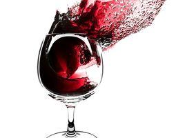 Splash Wineglass 4 3D