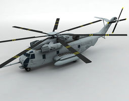 3D model Sikorsky CH53E Helicopter