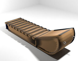 3D model Sled - type 2