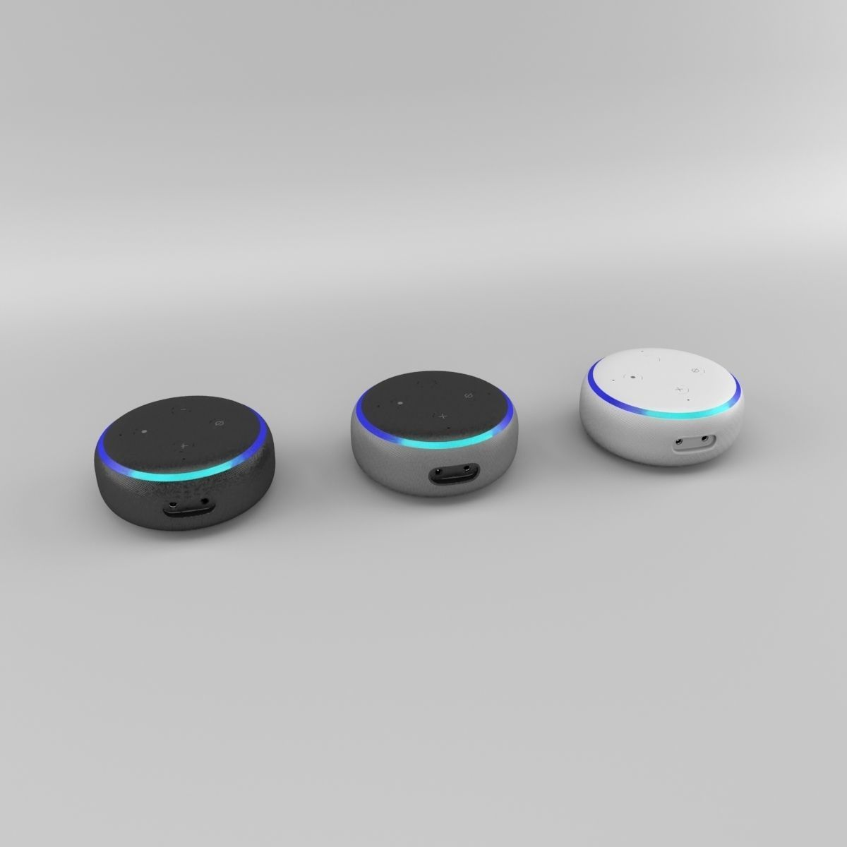 Amazon Echo Dot 3rd Generation 2018 - All Colors