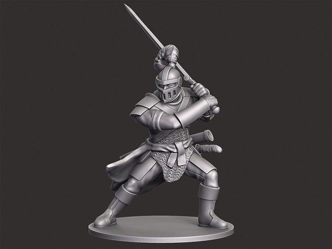 Human Knight Miniature