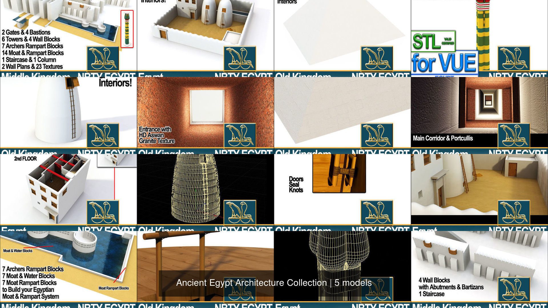 Ancient Egypt Architecture Collection