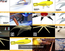 3D model Spaceships Collection