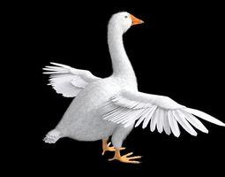 3D asset Goose