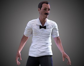Boxing Referee 3D asset