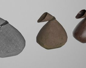 1 Sack 3 Textures 3D model