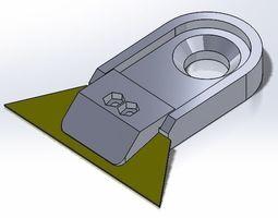3d print model box cutter blade holder