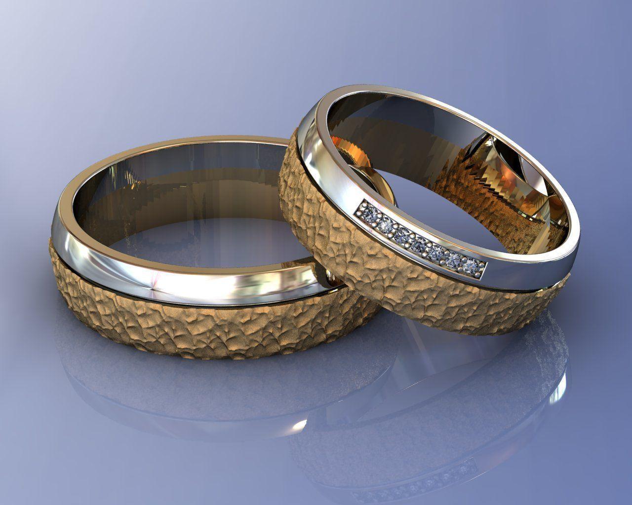 Wedding Brutal Rings