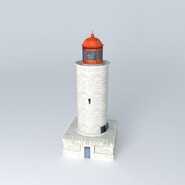 Small Stone Lighthouse