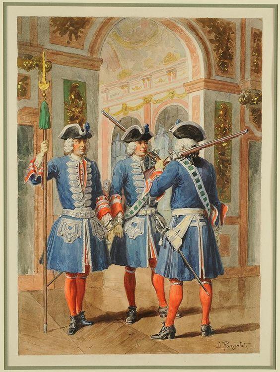 French Pikeman 17th Century