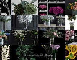 3D Big flower collection Vol2