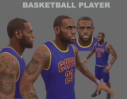 basketball Basketball Player 3D