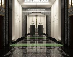 3D Marble Entrance Hall