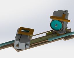3D Single track cutting mechanism