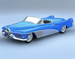 GM Le Sabre 1951 Concept 3D