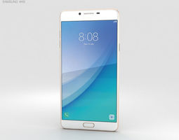 Samsung Galaxy C7 Pro Gold 3D model