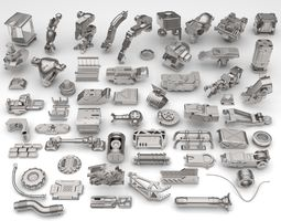Kit bash-57 pieces - collection-21 3D model