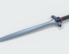 Sword of Black Manta from movie Aquaman 3D model