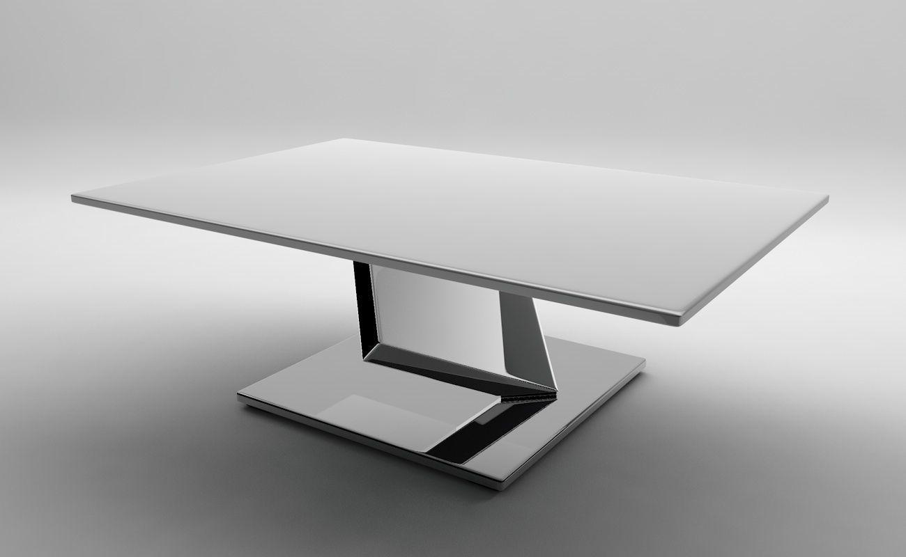Ultrarealistic futuristic table