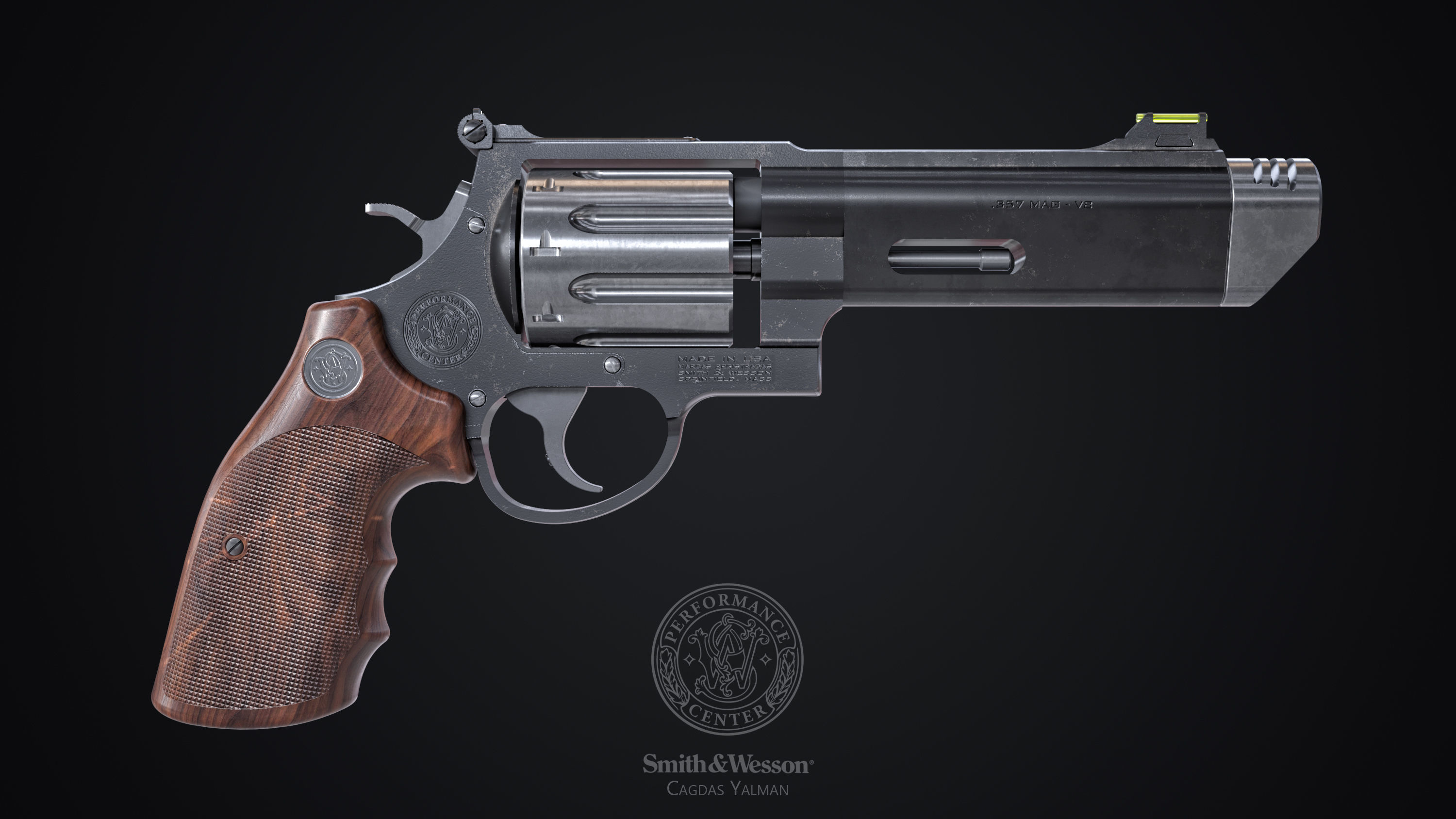 Smith Wesson  627 VComp