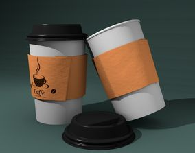 Paper Cups Coffee 3D model other