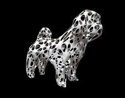 dog shih tzu figure 2 print 3D printable model