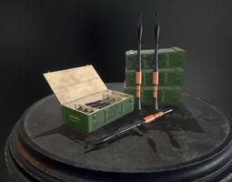 RPG-7 Rocket-Launcher 3D model