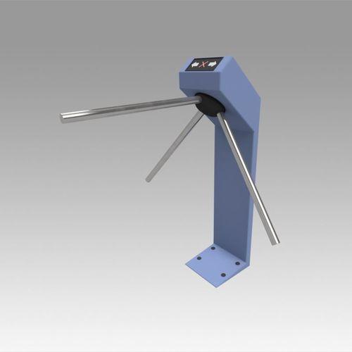 turnstile blue tripod 3d model max obj mtl fbx stl dwg ige igs iges 1
