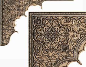 3D CNC Arabian panel arch
