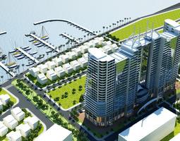 3d models skyscraper hotel building