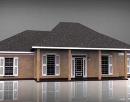 brick Private House 3D