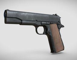 3D asset Colt 1911 PBR
