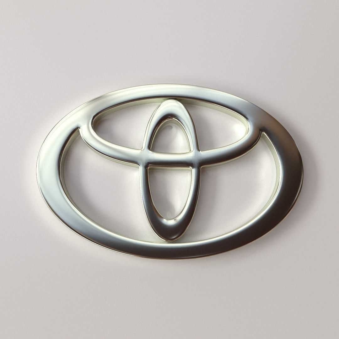 Toyota Emblem | 3D model