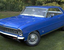 Chevrolet Nova SS 1966 3D asset