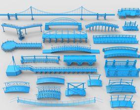 3D model Bridges - 23 pieces