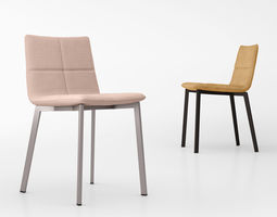 3D model Bludot Between Us dining chair
