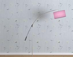 Floor Lamp A005 3D model