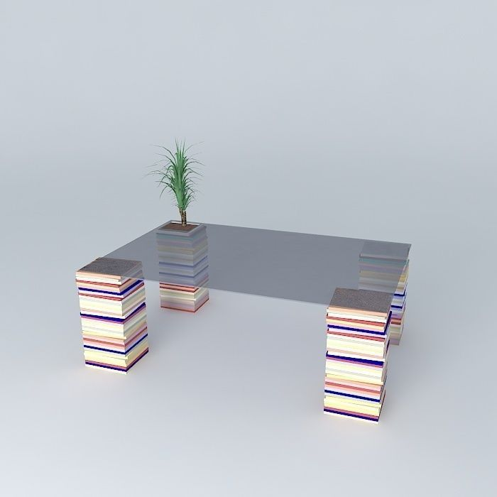 Glass coffee table artcopi 120 x 80 x 35 3d model max obj for Coffee table 80 x 80
