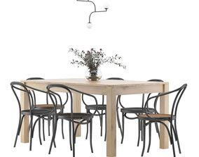 Dining Furnitures Set 19 3D
