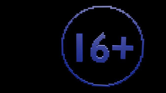 sixteen plus voxel 3d model obj mtl 3ds fbx stl blend x3d 1