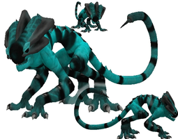 3D model Battle Chamelion