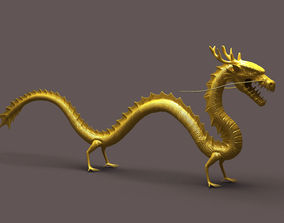 3D model Chinese dragon 02