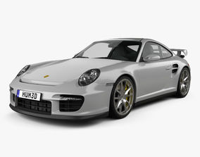 Porsche 911 GT2 997 2007 3D model