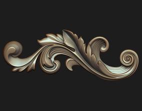 Carved decor 010 3D model