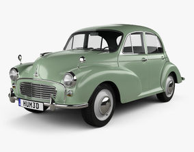 3D Morris Minor 1000 Saloon 1962