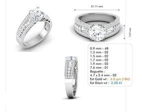 3dm file diamond jewelry
